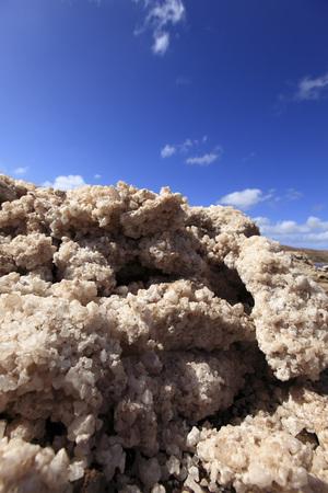 Africa,Cape Verde,Sal,View Of Natural Salt,Close Up