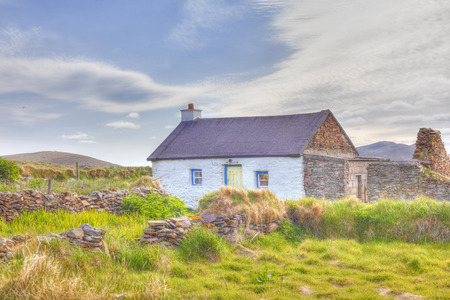 Ireland,County Kerry,View Of House LANG_EVOIMAGES