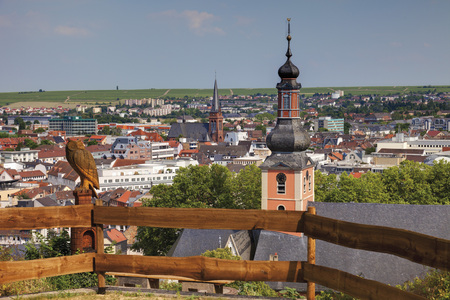 Europe,Germany,Rhine-Palatinate,View Of City