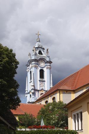 Austria,Lower Austria,Wachau,Waldviertel,Duernstein,View Of Abbey Church LANG_EVOIMAGES