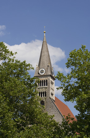 Germany,Bayern,Laufen,View Of Abbey Church