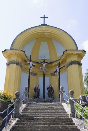 Austria,Land Salzburg,Oberndorf,View Of Chapel