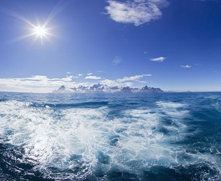 South Atlantic Ocean,United Kingdom,British Overseas Territories,South Georgia,View Of Sea