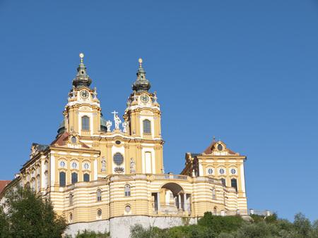 Austria, View Of Melk Abbey