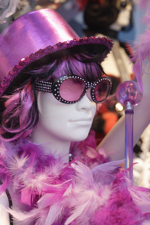 Germany,Close Up Of Display Dummy In Carnaval Costume