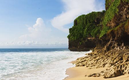 Indonesia,Bali Island,Bukit Peninsula,View Of Dreamland Beach