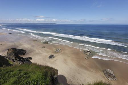 United Kingdom,Northern Ireland,County Derry,View Of Coast