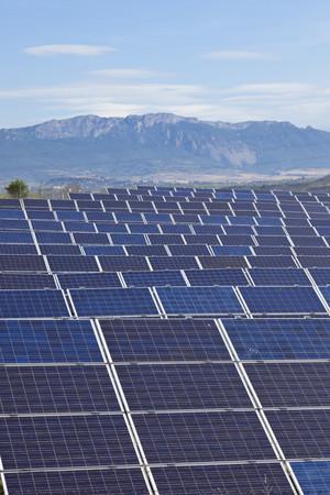 Spain,La Rioja,View Of Solar Panels LANG_EVOIMAGES
