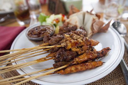 Indonesia,Bali,Balinese Satay Chicken,Close Up