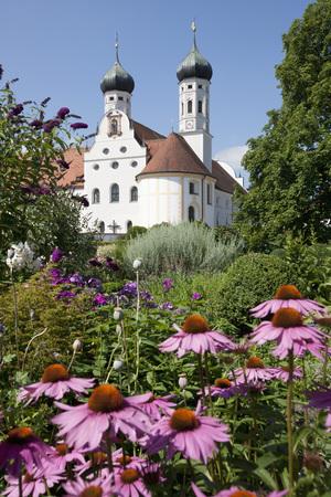 Germany,Bavaria,View Of Abbey Scheyern