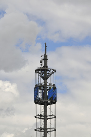 Germany,Bavaria,View Of Radio Tower Against Sky