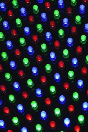 Various Light Panels On Black Background LANG_EVOIMAGES