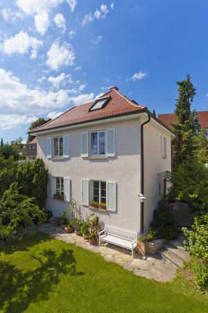 Germany,Baden-Wurttemberg,Stuttgart,View Of Detached House LANG_EVOIMAGES