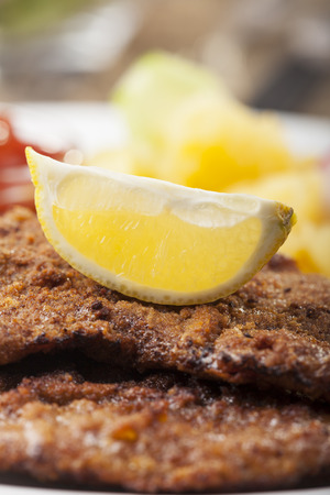 Wiener Schnitzel,Close Up
