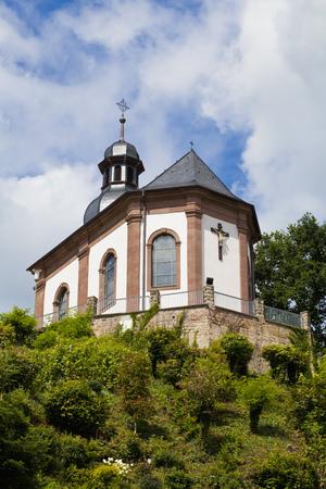 Germany,Saarland,View Of Heilig Kreuz Chapel LANG_EVOIMAGES