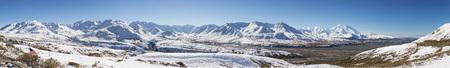 Usa,Alaska,View Of Mount Mckinley And Alaska Range At Denali National Park