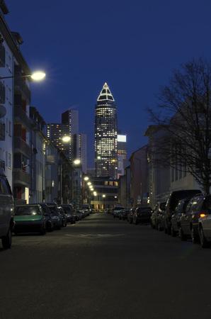 Germany,Hesse,Frankfurt,View Of Frankfurt Tower LANG_EVOIMAGES