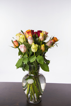 Bouquet Of Roses,Close Up LANG_EVOIMAGES