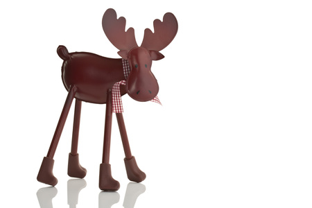 Metal Elk Christmas Decoration,Close Up LANG_EVOIMAGES