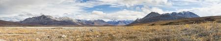 Usa,Alaska,View Of Brook Range At North America