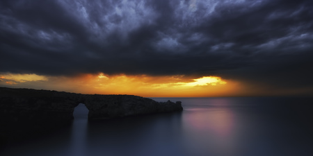 Spain,Manorca,Upcoming Storm Over Balearic Islands