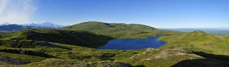 Usa, Alaska, View Of Mount Mckinley