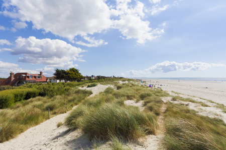 England, Sussex, Chichester, Beach At West Wittering