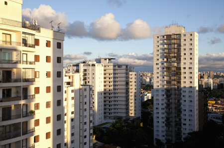 Brazil, Sao Paulo, View Of Apartment Buildings