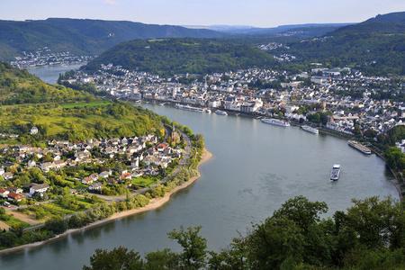 Germany,Rhineland-Palatinate,View Of Boppard At River Rhein