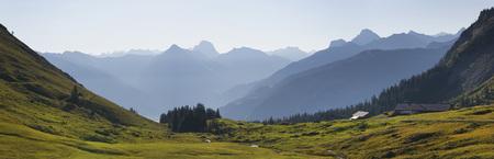 Austria,Vorarlberg,View Of Kanisfluh Mountain At Bregenz Forest