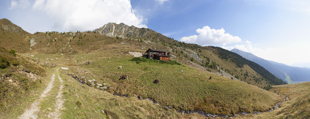 Italy,View Of Pfunderer Berge LANG_EVOIMAGES