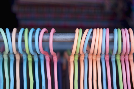 Bhutan,Plastic Hangers,Close Up