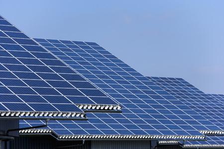 Germany,Bavaria,Solar Panel At Photovoltaic Park