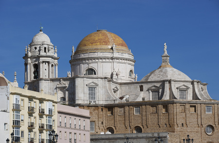 Spain,View Of Cathedral