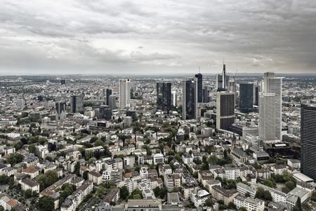 Germany,Hesse,Frankfurt,View of city skyline