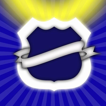 Illustration of emblem,close up LANG_EVOIMAGES