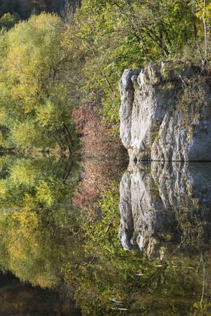 Germany,Baden Wuerttemberg,View of Upper Danube Nature Park