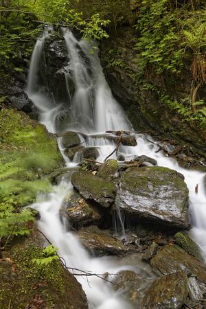 Austria,Styria,View of waterfall in Enns valley