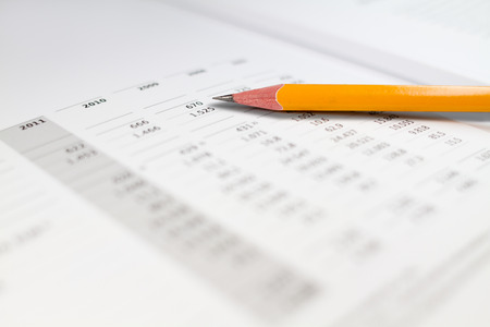 Analysis of balance sheet LANG_EVOIMAGES