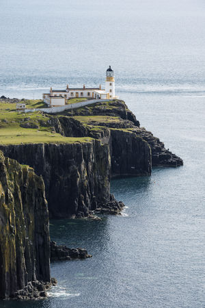 United Kingdom,Scotland,View of lighthouse in Neist Point LANG_EVOIMAGES