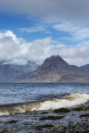 United Kingdom,Scotland,Isle of Skye,View of Cuillin Hills LANG_EVOIMAGES