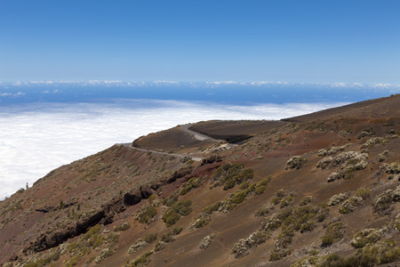 Spain,View of Teide National Park