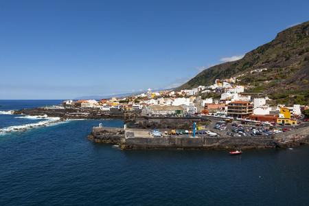 Spain,View of Coastal town of Garachio LANG_EVOIMAGES