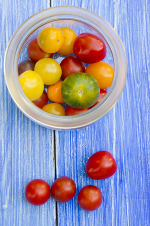 Germany,Baden Baden Wuerttemberg,Wild tomatoes in bowl