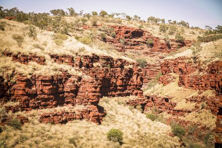 Australia,View of landscape at Karijini National Park