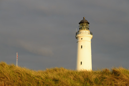 Denmark,View of lighthouse LANG_EVOIMAGES