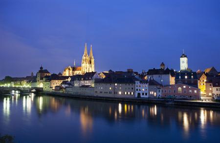 Germany,Bavaria,Regensburg,townscape