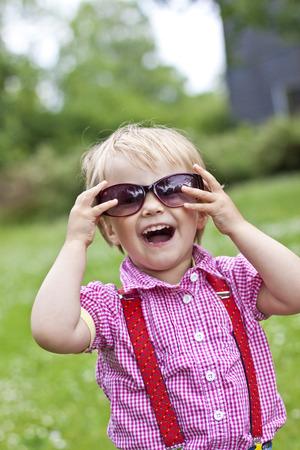 Germany,Kiel,girl wearing sunglasses