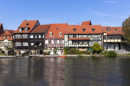 Germany,Bavaria,Bamberg,View of Little Venice