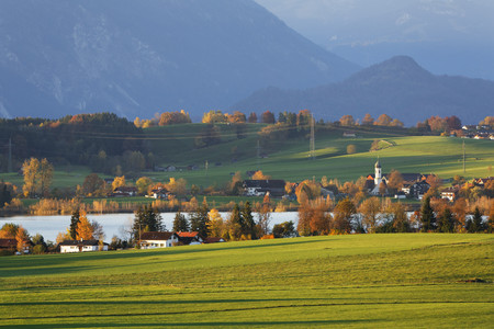 Germany,Bavaria,Upper Bavaria,Pfaffenwinkel,Riegsee LANG_EVOIMAGES